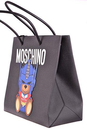 Borsa Tote Moschino Donna Borsa Tote Nero Moschino T56w50rq