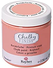 Rayher Chalky Finish 38868102 krijtverf op waterbasis, voor shabby-chic