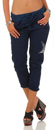 Mississhop, hergestellt in EU - Pantalón - para mujer azul oscuro