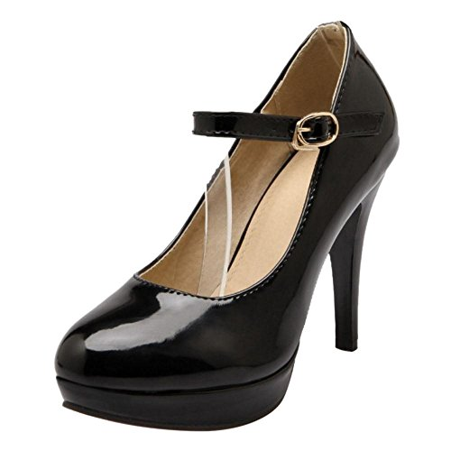 Donna Elegant Stiletto Jojonunu Black Scarpe OZqd5wd