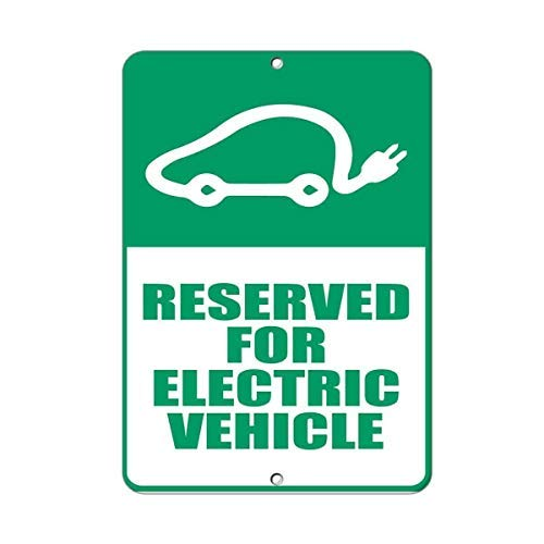 WSMsign Señales de Advertencia para vehículo eléctrico ...