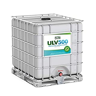 Hypochlorous Acid 500PPM (275 Gallons) for Dental and Medical Professionals, HOCL Surface Cleaner for ULV Foggers, Petra