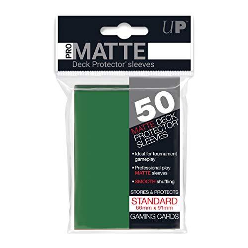 (Ultra Pro Pro-Matte Green Deck Protector)