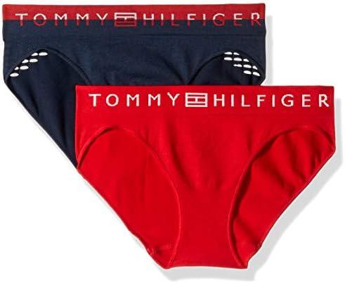 Tommy Hilfiger Women's Seamless Bikini Underwear Panty, Multipack
