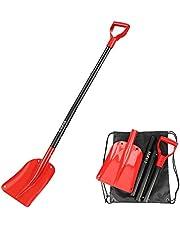 COFIT 110cm / 120cm Pelle à Neige Quatre Pièces en Un Outil pour Suppression de Sable ou Neige à Usage Externe pour Voiture et Jardinage