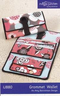 Grommet Wallet: An Amy Barickman Design (Indygo Junction Pattern # IJ880)