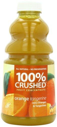 Dr. Smoothie 100% Crushed Fruit Concentrate, Orange Tangerine, 46-Ounce Bottles (Pack of - Smoothie Orange Fruit