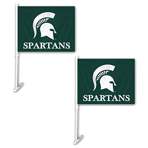 Top 10 recommendation michigan state car flag for 2019