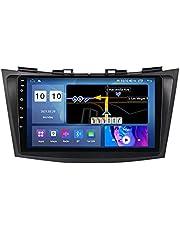 Auto Radio Stereo voor Swift 2011-2015 Android Hoofdeenheid Multimedia Player GPS Navigatie FM-ontvanger met IPS Touchscreen Ondersteuning 4G+WIFI/SWC/Carplay/Bluetooth,8 Core 4G+WiFi: 4+64GB