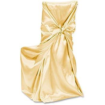 Amazon Com Linentablecloth Satin Universal Chair Cover