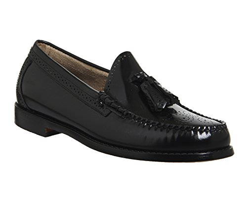 Leather Bass Larkin Co Black Mens H G Shoes Brogue B7qwnxO4pf