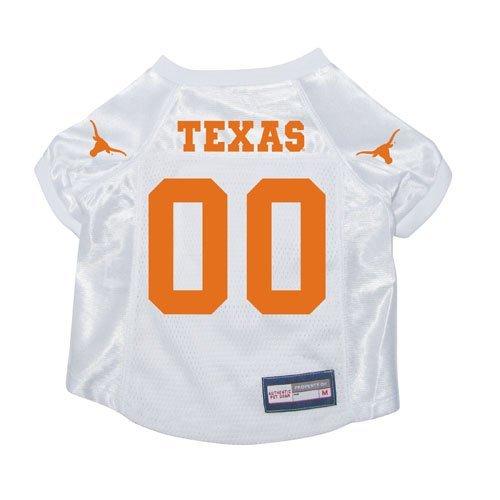 Texas Longhorns Premium NCAA Pet Dog Jersey w/ Name Tag XL