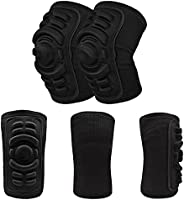 Elbow and Knee Pads Mountain Bike Cycling Protection Set Dancing Knee Brace Support MTB Eblow Knee Protector