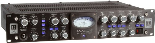 Mic Pre Compressor (New Avalon Design | VT-700 Series Tube Mono Channel-Strip Microphone/Instrument Preamplifier, Opto-Compressor, and Sweep Equalizer : VT-737SP-B (Black))