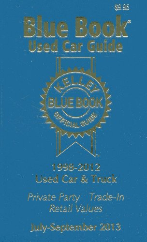 21 3  Kelley Blue Book Used Car Guide  July   Sept 2013