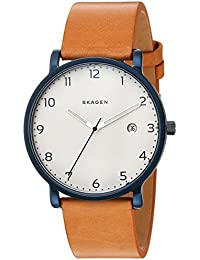 Men's SKW6325 Hagen Leather Watch
