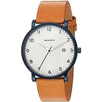 Skagen Men's SKW6325 Hagen  Leather Watch