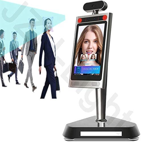JZH-Light Face Facial Recognition Time Attendance System Access Control System Employee Time Face Dynamic attendance Infrared Tablet Camera