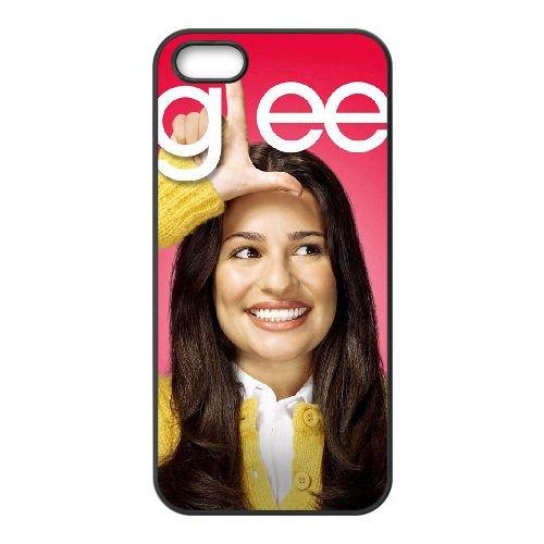 Glee 3 coque iPhone 5 5S cellulaire cas coque de téléphone cas téléphone cellulaire noir couvercle EOKXLLNCD24058