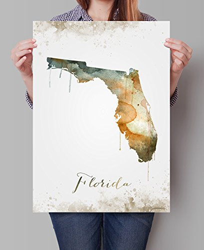 Amazon Com Florida State Map United States Map Map Of Florida