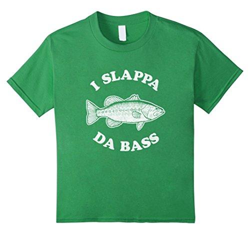 kids-i-slappa-da-bass-t-shirt-funny-bass-fishing-guitar-shirt-8-grass