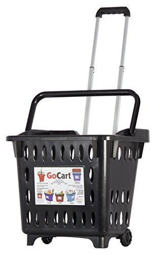 dbest products Go-cart, Shopping Basket, Black