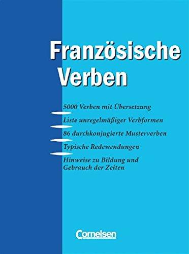 Konjugationswörterbuch - Französische Verben: Wörterbuch