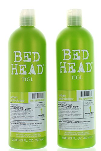 TIGI Bed Head Re-Energize Shampoo and Conditioner Duo, 25.36 (Bed Shampoo)