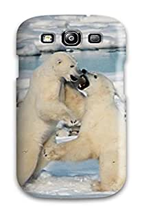 Top Quality Rugged Polarbears Case Cover For Galaxy S3