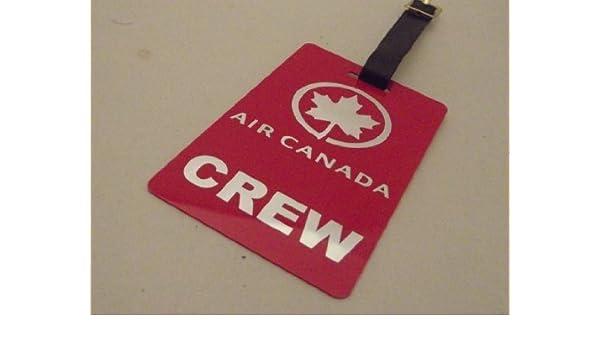 Novelty Flight Crew Tag - Air Canada Crew: Amazon ca
