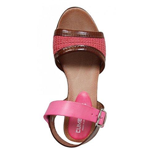 Compensées Rosa Chaussures Femme Pour Cumbia 30158 APq5Cnw