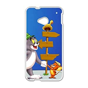 tom and jerry normal HTC One M7 Cell Phone Case White cover xlr01_7705420
