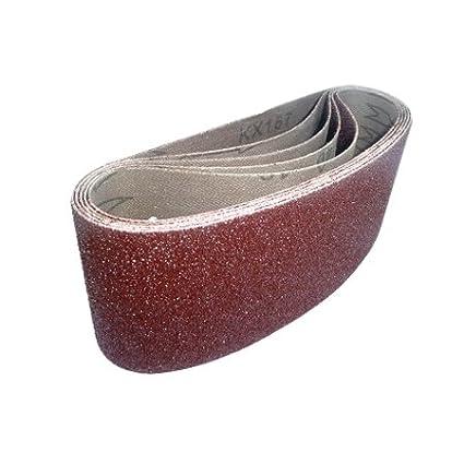 Cloth Sanding Belts 75 x 457mm 40 Grit Pack of 5