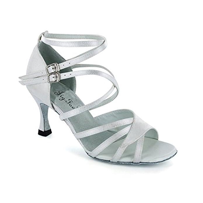 Ladies Latino Scarpe Da Ballo Per Adulti il Modo Di Vanno Square Dance camoscio Adulto Dancing Shoes