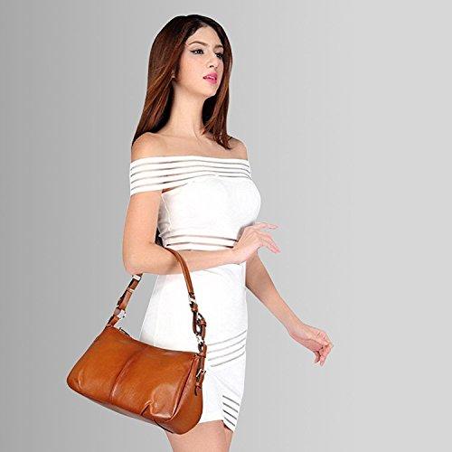 S-Zone Shoulder Bag Leather 2Way Slanted Cliff Bag Casual Ladies Mini Ban Jp F/S
