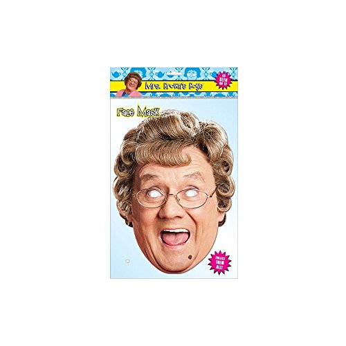 Agnes Brown Costume (Agnes Brown Character Face Mask - Official Mrs Brown's Boys Merchandise)
