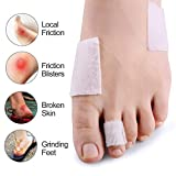 Sumifun Moleskin for Foot - Pack of 25 Adhesive