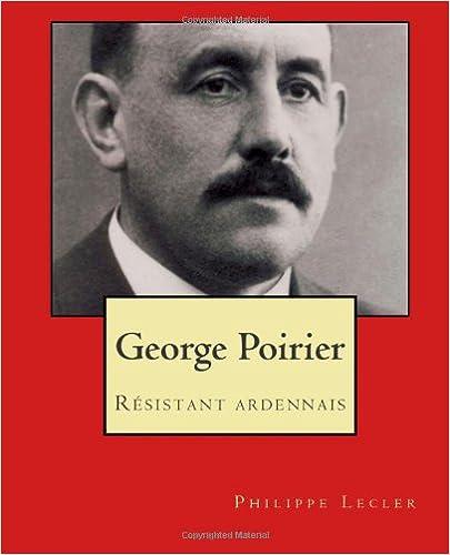 Téléchargement George poirier epub pdf