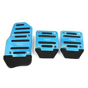 Sourcingmap Antideslizante Azul Tapa de Pedal de Embrague Freno de Gas de Coche: Amazon.es: Coche y moto