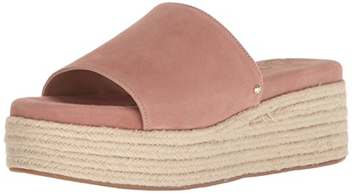 (Sam Edelman Women's Weslee Slide Sandal, Dusty Rose, 8 M US)