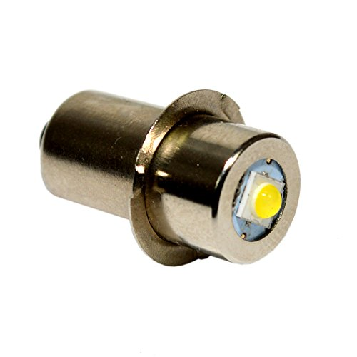 100lm Led - HQRP High Power Upgrade Bulb 3W LED 100LM 7-30V for Milwuakee: #49-81-0090 / #49-81-0012; M12 / M18 / M28 plus HQRP Coaster