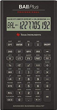 Price comparison product image The Best TI BA II Plus Professional Financial Calculator