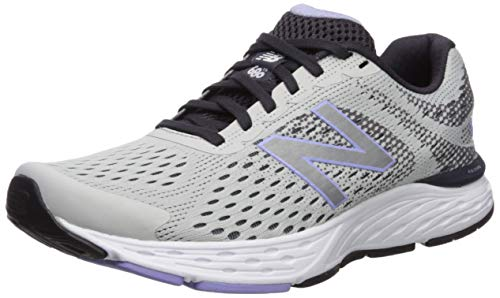 New Balance Women's 680v6 Cushioning Running Shoe, Summer Fog/Iodine Violet, 10.5 M US (Best New Balance Stability Running Shoes)