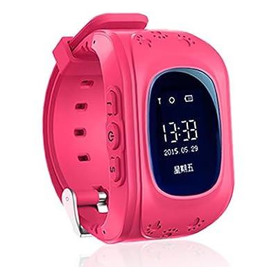 TKSTAR Q50 GPS reloj inteligente para niños 2 way llamadas SOS niños reloj de pulsera podómetro