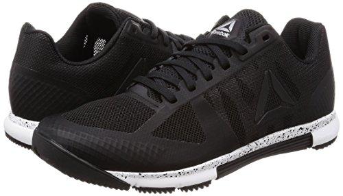 Crossfit De Speed 000 Chaussures Reebok Noir Gymnastique Tr R white black silvr Femme 0 2 CFwq4gR
