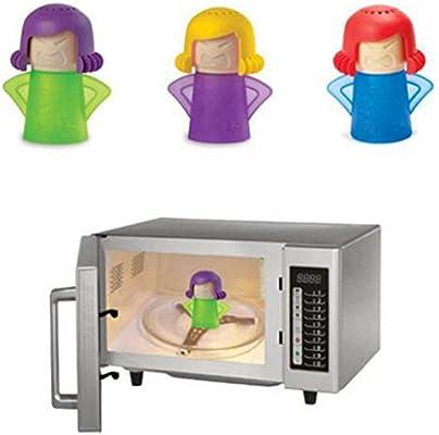 Zhouba - Limpiador de vapor para microondas, horno, fácil limpieza ...