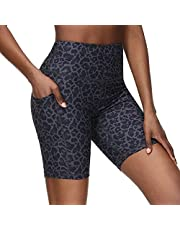 Youthor 8''Workout Shorts for Women,Biker Shorts Women,high Waisted Running Shorts for Women,Womens Workout Shorts with Pockets