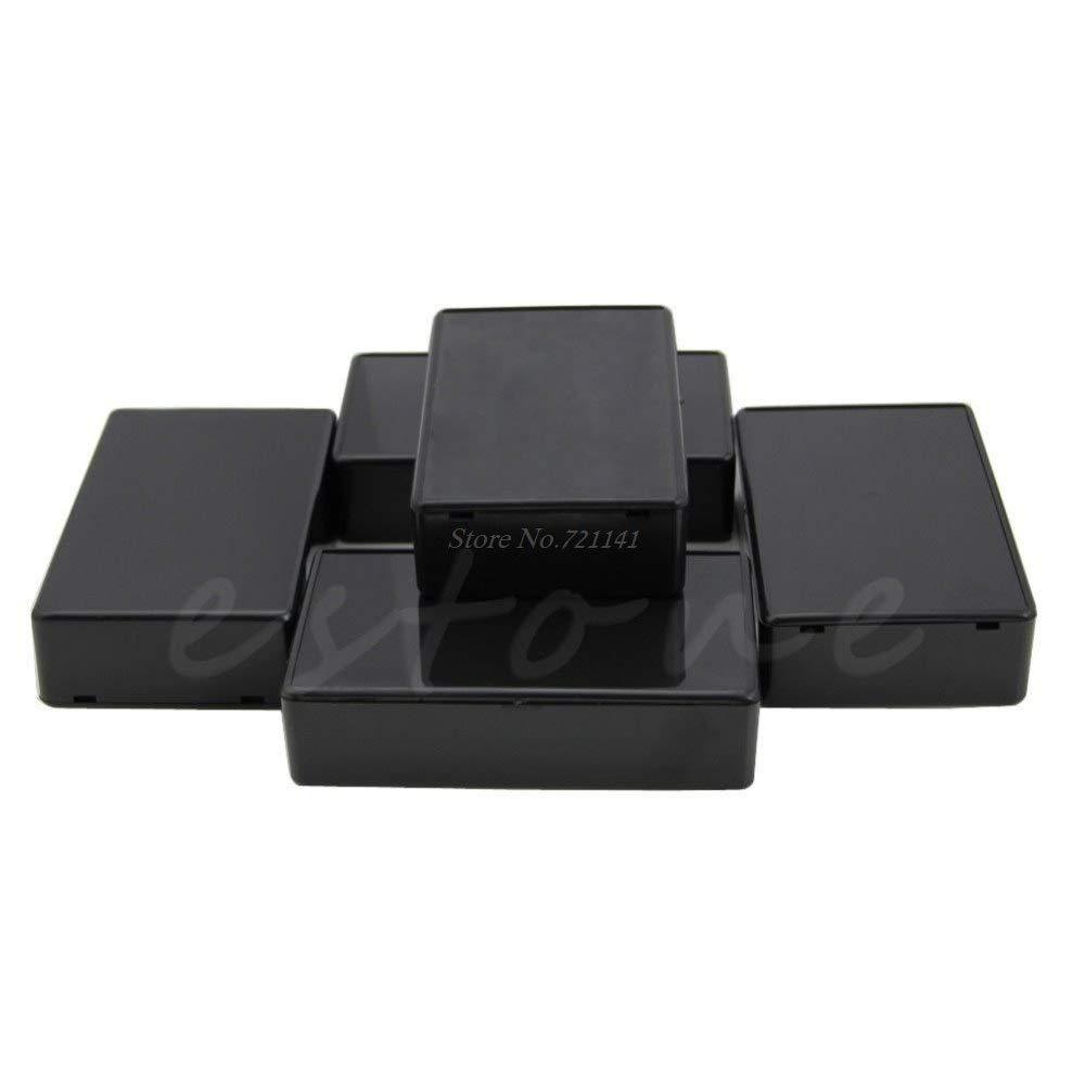 New Plastic Electronic Project Box Enclosure Instrument case DIY 100x60x25mm PT