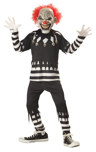 Clown Psycho Halloween Costume (Child Large (10-12) Psycho Clown)