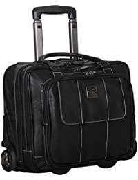 Casual Fling Computer Overnighter Travel Totes, Black